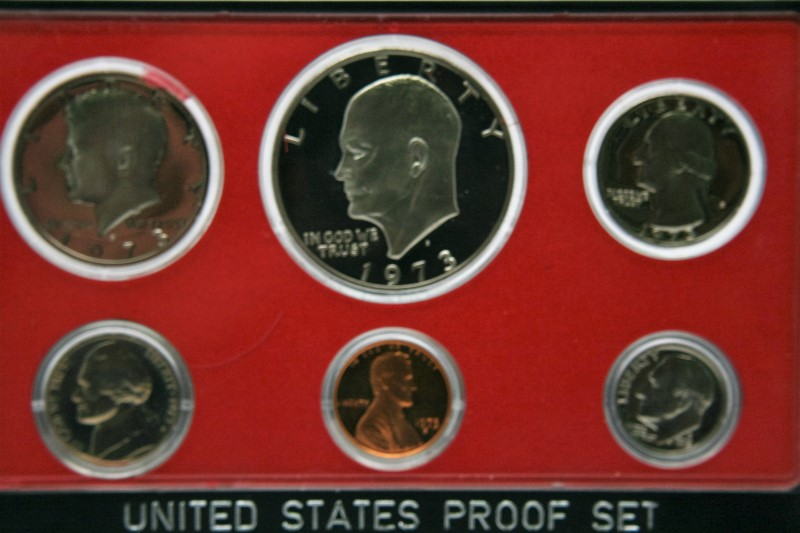 UNITED STATES COIN  PROOF SET