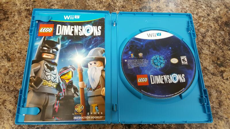 lego dimensions nintendo wii u 2015 replacement game. Black Bedroom Furniture Sets. Home Design Ideas