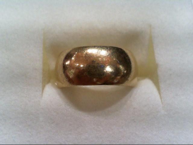 Lady's Gold Wedding Band 14K Yellow Gold 6.4g