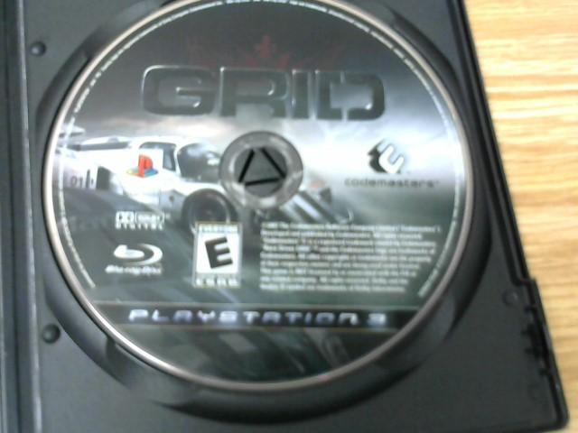 SONY Sony PlayStation 3 Game GRID