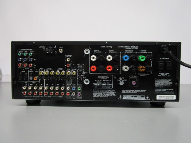 ONKYO TX-SR601 AV RECEIVER