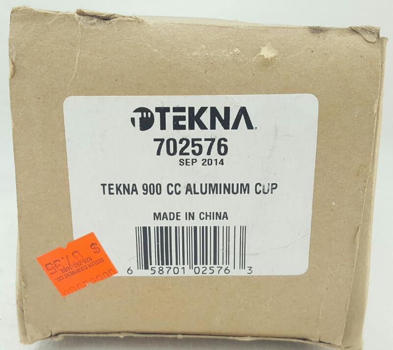 TEKNA Spray Gun 703581 W/ 702576 Gravity Feed Cup