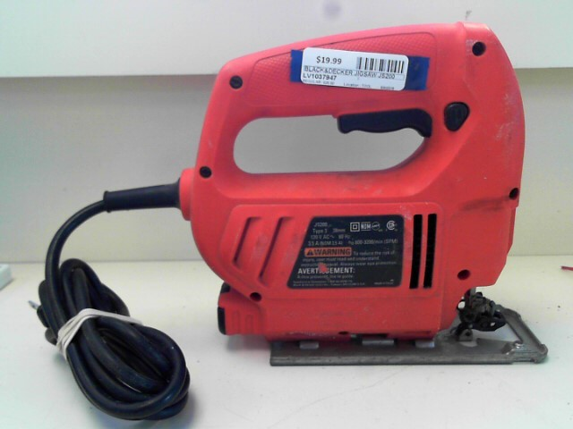 BLACK&DECKER Jig Saw JS200