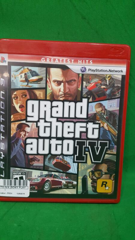 Grand Theft Auto IV/4 (Sony PlayStation 3 PS3/2009) Greatest Hits ~COMPLETE!~