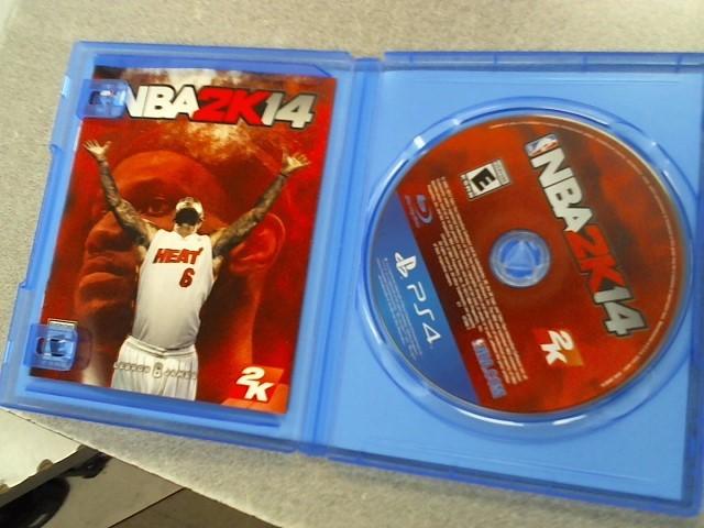 SONY Sony PlayStation 4 Game NBA 2K14 - PS4