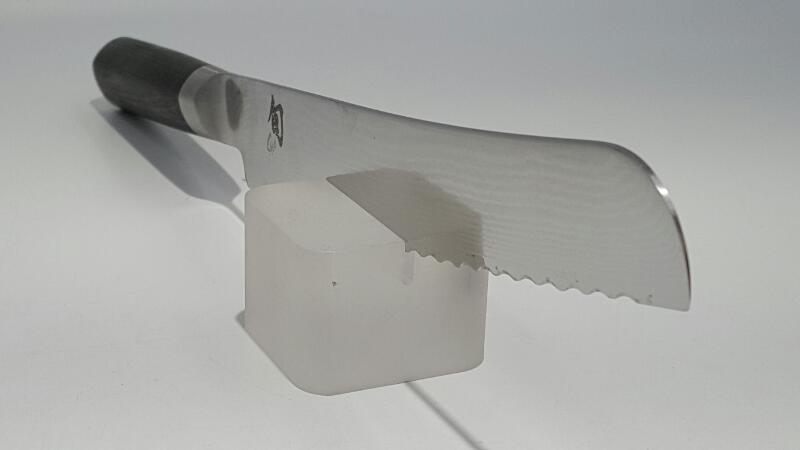 "Shun Classic 9"" Bread Damascus Knife (DM0705)"