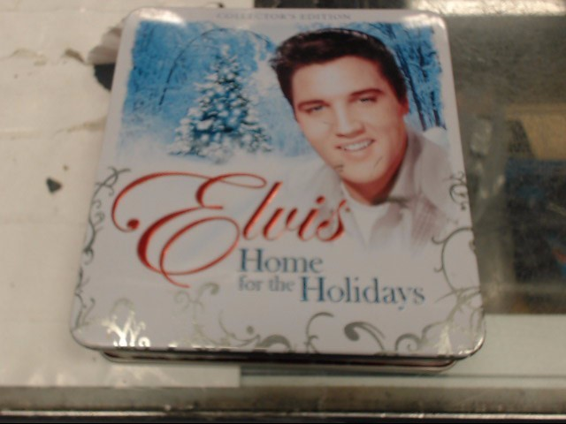 ELVIS HOME FOR THE HOLIDAYS COLLECTORS EDITION