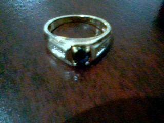 Antique Lady's Gold Ring 14K Yellow Gold 3.8g