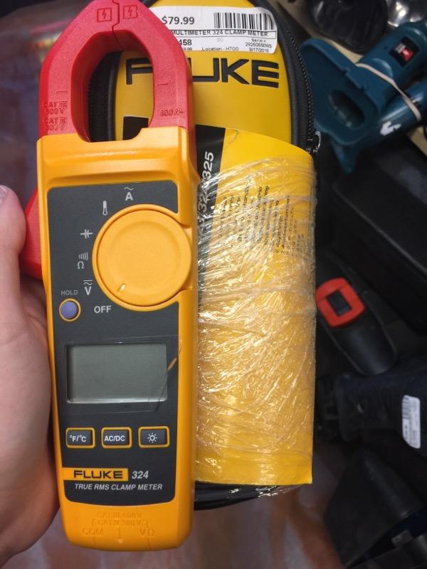 FLUKE Multimeter 324 CLAMP METER