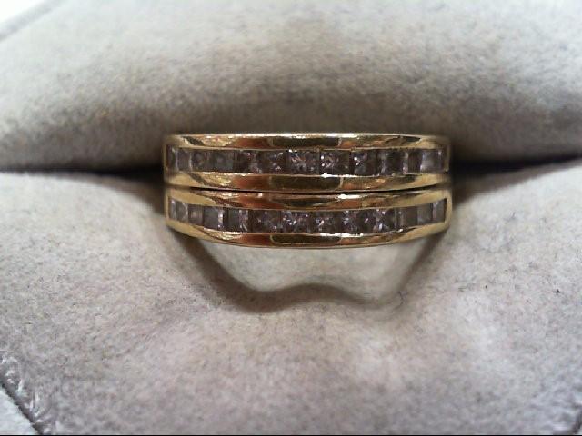 Lady's Diamond Wedding Band 26 Diamonds .78 Carat T.W. 14K Yellow Gold 5.4g