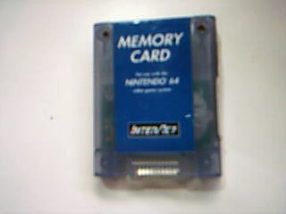 NINTENDO Video Game Accessory 64 MEMEORY CARD