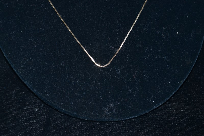 Necklace Chain 14K Yellow Gold 1.3 Grams