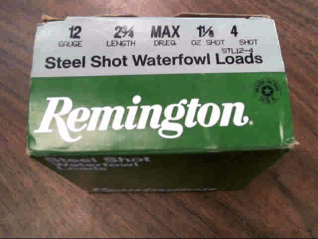 REMINGTON FIREARMS & AMMUNITION Ammunition 12 GAUGE STEEL SHOTSHELLS