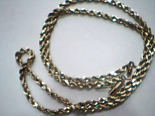 "20"" Gold Rope Chain 14K Yellow Gold 16.7g"