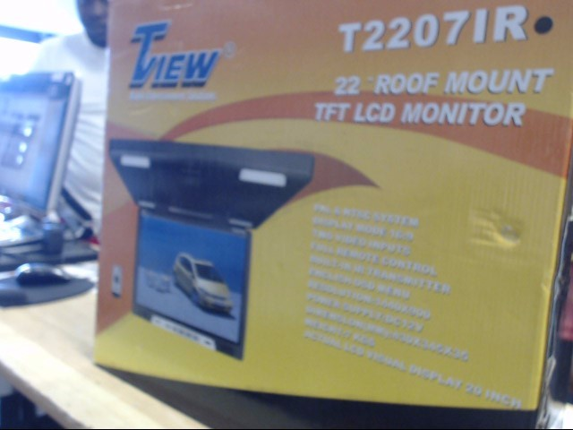 TVIEW MOBILE Car Video T22071R