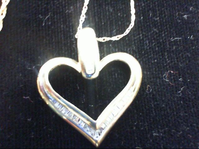 Diamond Necklace 36 Diamonds .36 Carat T.W. 10K Yellow Gold 2.5g
