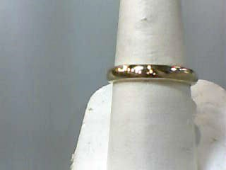 Gent's Gold Wedding Band 14K Yellow Gold 2.7dwt Size:8