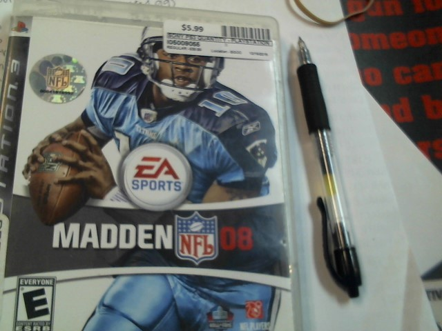 SONY PS3 MADDEN NFL 08
