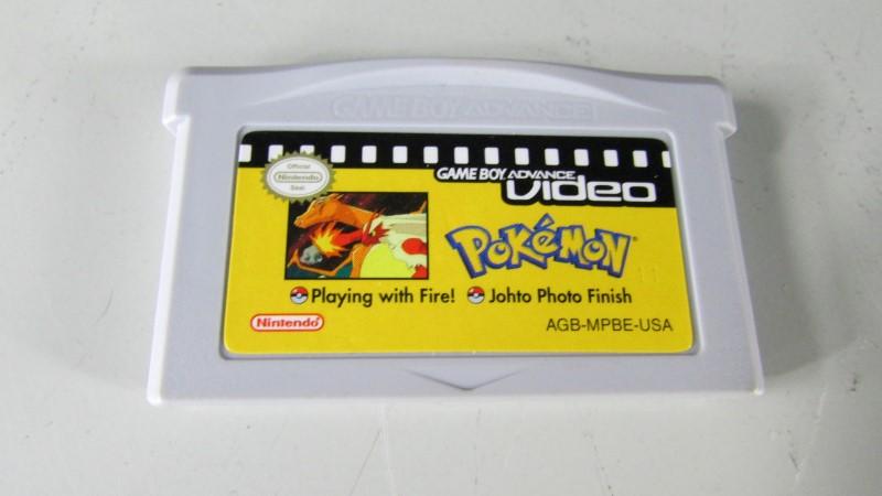 POKEMON GBA VIDEO - PLAYING WITH FIRE . JOHTO PHOTO FINISH