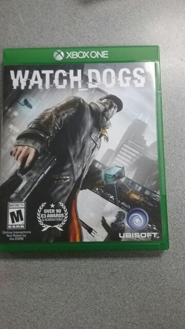 MICROSOFT Microsoft XBOX One Game WATCH DOGS XBOX ONE GAME