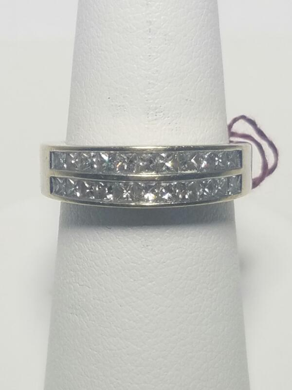 DIAMOND   M'S 18KT DIAMOND  4.3_DWT/WG