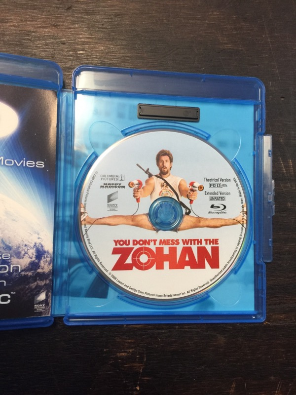 BLU-RAY MOVIE Blu-Ray YOU DONT MESS WITH THE ZOHAN