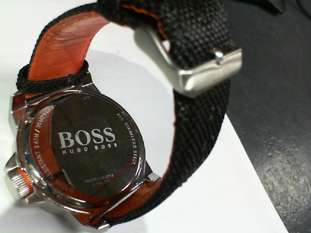 HUGO BOSS Gent's Wristwatch ORANGE NEW YORK 1513116