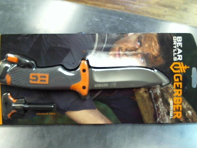 GERBER Hunting Knife BEAR GRYLLS ULTIMATE