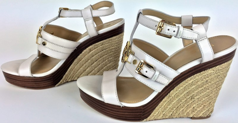 MICHAEL KORS YUTE WEDGES SZ 7 1/2 M SHOES