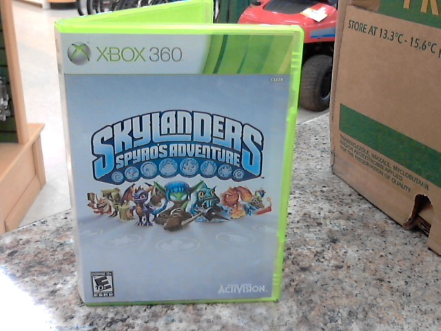 MICROSOFT Microsoft XBOX 360 Game SKYLANDERS SPYROS ADVENTURE