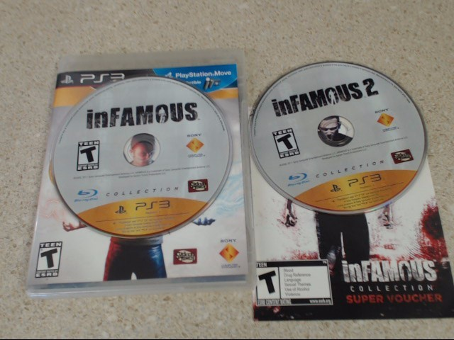 INFAMOUS COLLECTION - PLAYSTATION 3 GAME