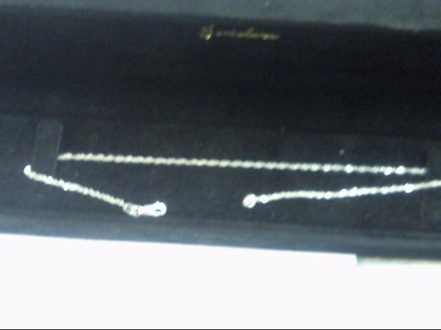 Gold Chain 10K White Gold 1g