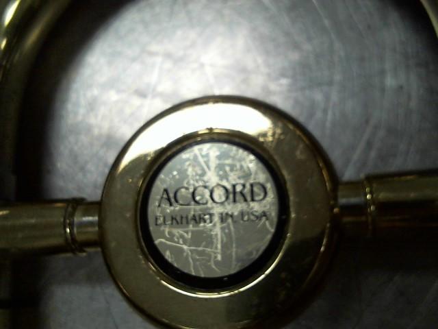 ACCORD ELKHART,IND USA Trombone TROMBONE 1028
