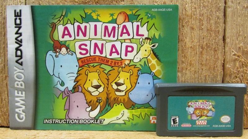 NINTENDO Nintendo GBA ANIMAL SNAP RESCUE THEM 2 BY 2