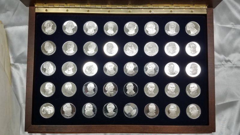 signers of the constitution 40 silver rounds