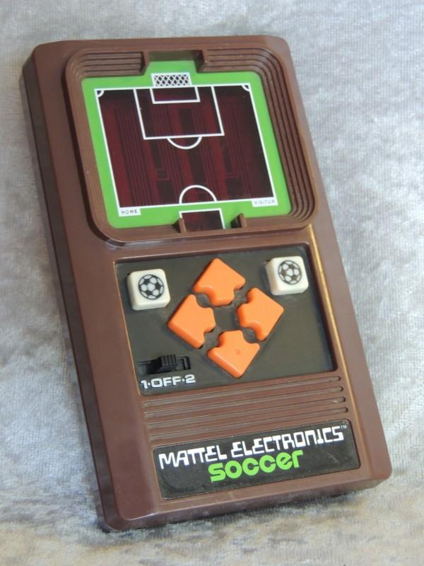 Mattel Electronics Soccer 1978 Handheld Mini Soccer Vintage WORKS