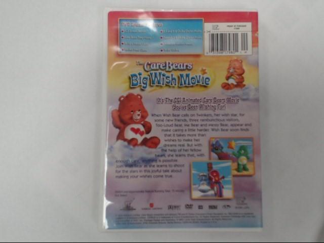 DVD MOVIE CARE BEARS BIG WISH MOVIE (2005)
