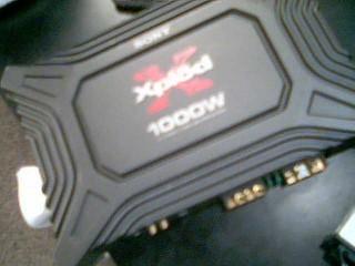 SONY Car Amplifier XM-1652Z