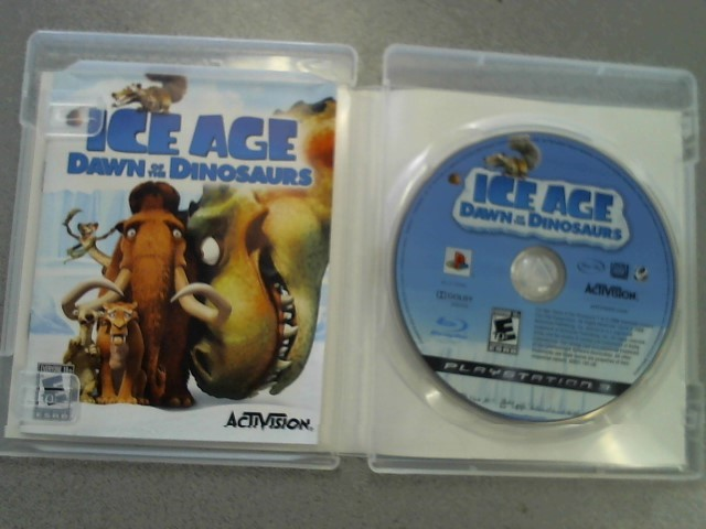 SONY Sony PlayStation 3 Game ICE AGE DAWN OF DINOSAURES