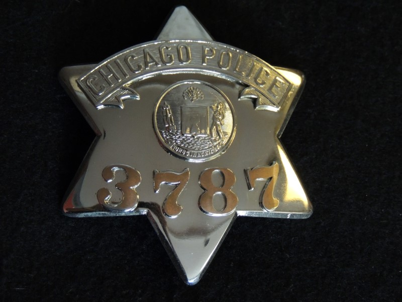 Chicago Police Pie Plate Badge - MEYER & WENTHE CHICAGO