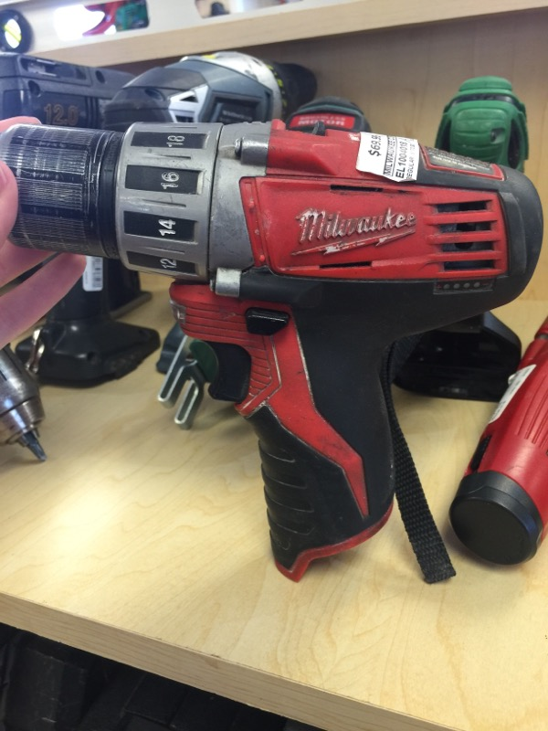 MILWAUKEE Cordless Drill M12 DRILL