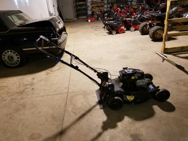 "CRAFTSMAN 22"" MOWER 163CC 917.374890"