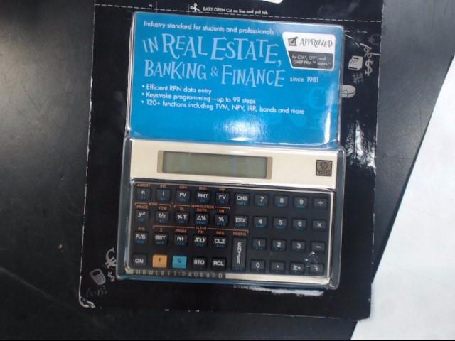 HEWLETT PACKARD Calculator 12C