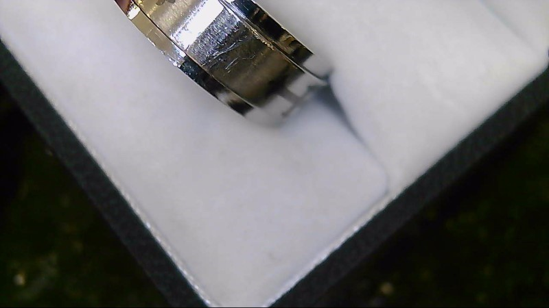 Men's Stainless Steel Fashion Ring with Cross Size 9