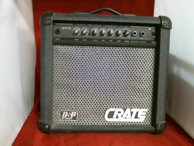 CRATE Electric Guitar Amp GFX-15