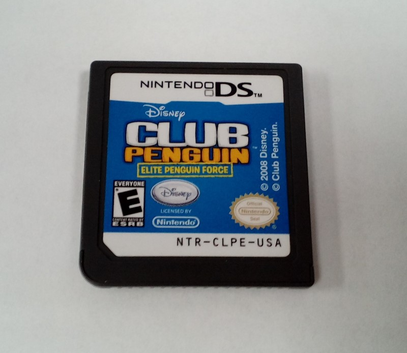 NINTENDO DS GAME CLUB PENGUIN: ELITE PENGUIN FORCE