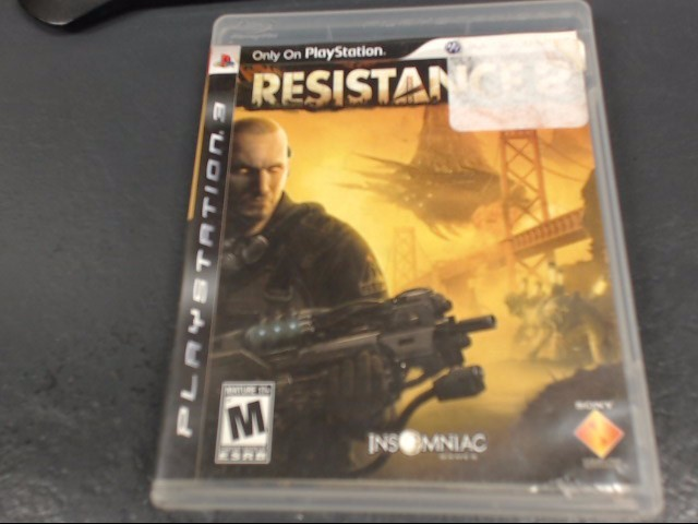 SONY Sony PlayStation 3 Game PS3 RESISTANCE 2