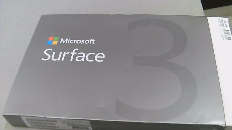 Microsoft Surface 3 10.8'' 64GB HDD 4GB Ram Windows Touch Tablet