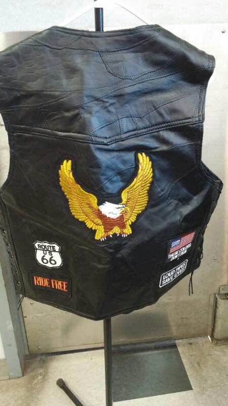 BUFFALO LEATHER Coat/Jacket VEST