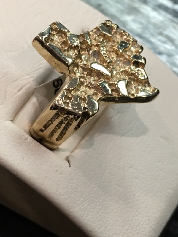Gent's Gold Ring 14K Yellow Gold 7dwt